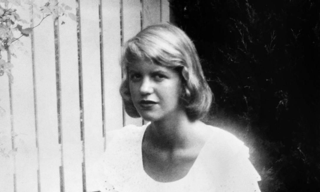 A poeta, contista e romancista americana Sylvia Plath (1932-1963) Foto: Granger Historical Picture Archive / Alamy Stock Photo