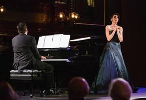 Lisette Oropesa, 36 anos, uma das mais preciosas vozes de soprano coloratura do mundo Foto: Divulgação