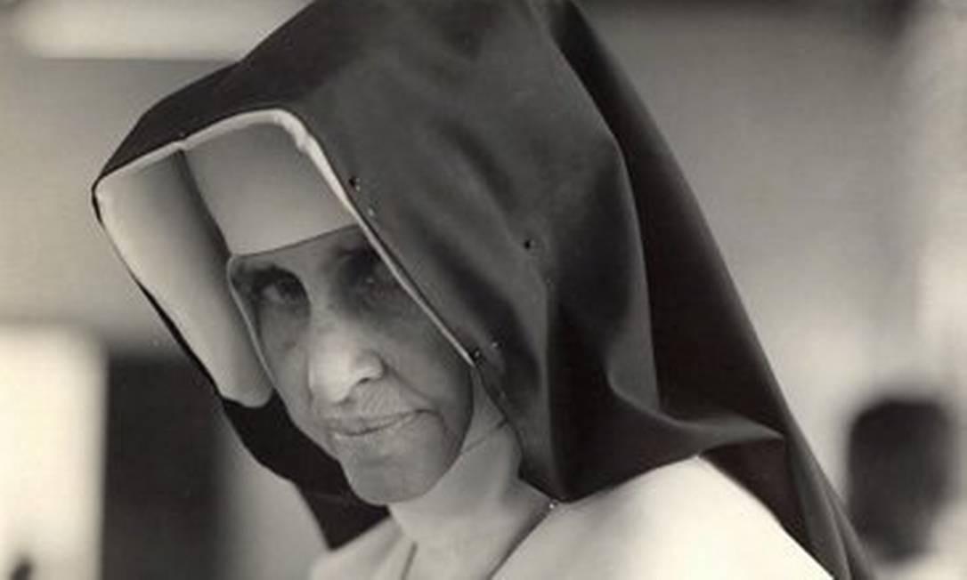 Canozinação de Irmã Dulce, a primeira santa brasileira, acontece neste domingo, no Vaticano. Maria Rita de Sousa Brito Lopes Pontes nasceu em Salvador, Bahia, em 26 de maio de 1914, e morreu na mesma cidade, em 13 de março de 1992 Foto: Divulgação