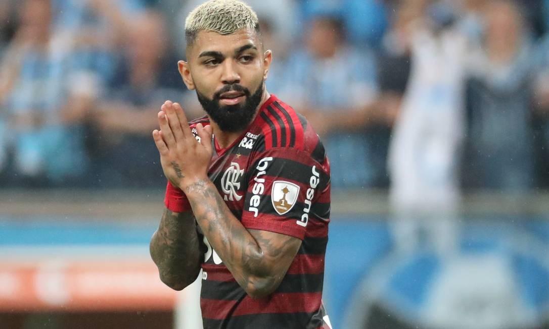 Gabigol está fora de duas partidas do Flamengo por causa da seleção Foto: Sergio Moraes / Reuters
