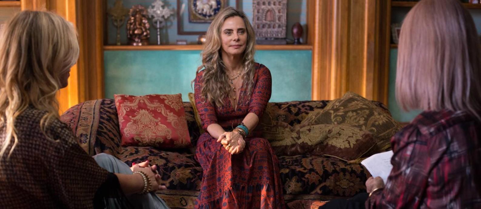 SC - Bruna Lombardi em 'A vida secreta dos casais', série em que é protagonista e autora, da HBO Foto: DUDA MORAIS / Divulgação
