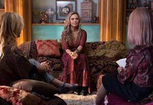 Bruna Lombardi em cena de 'A vida secreta dos casais', que volta ao ar neste domingo, na HBO Foto: DUDA MORAIS / Divulgação