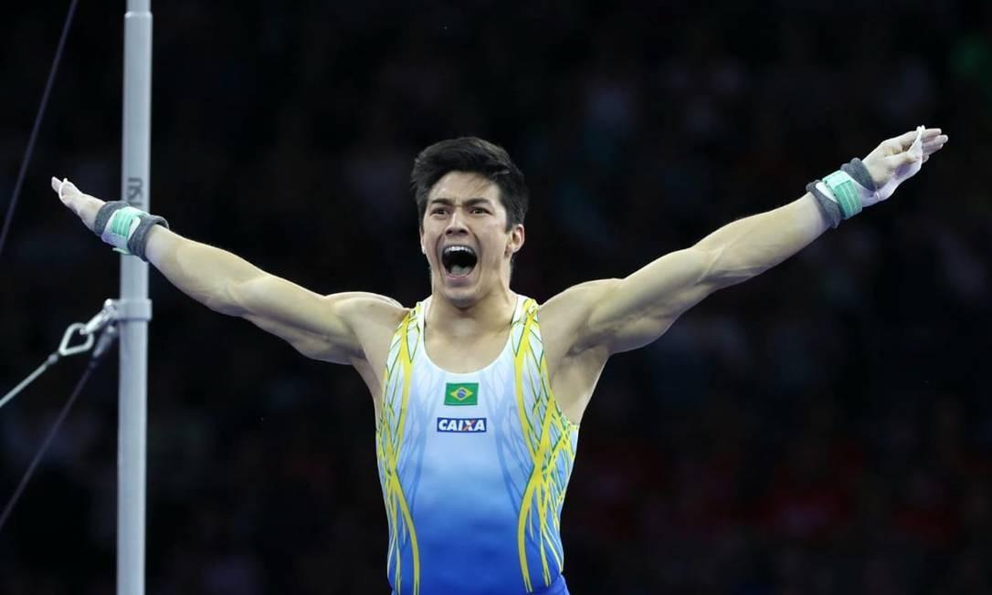 Arthur Nory conquista ouro no Mundial de Ginástica