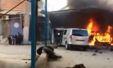 Ataque a comboio de civis deixa 10 mortos no Norte da Síria Foto: Reprodução