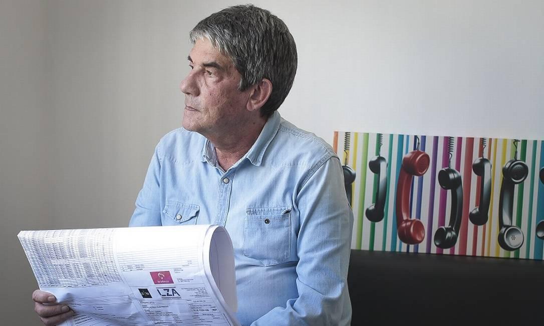 José Roberto Gualco: dificuldade de negociação com órgãos do governo. Foto: Edilson Dantas / Agência O Globo