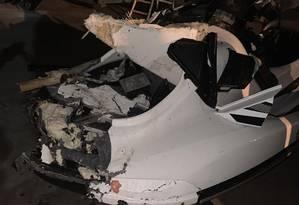Acidente entre lancha e jet ski na Barra da Tijuca deixa um morto Foto: Reprodução Redes Sociais
