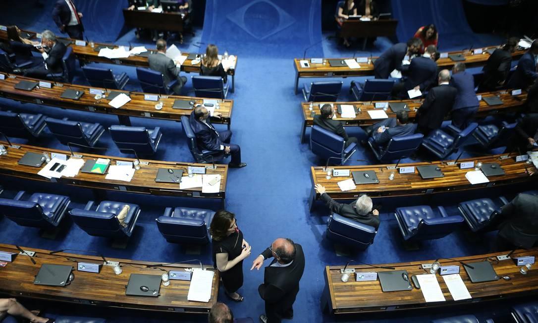 Plenário do Senado Federal Foto: Jorge William / Agência O Globo