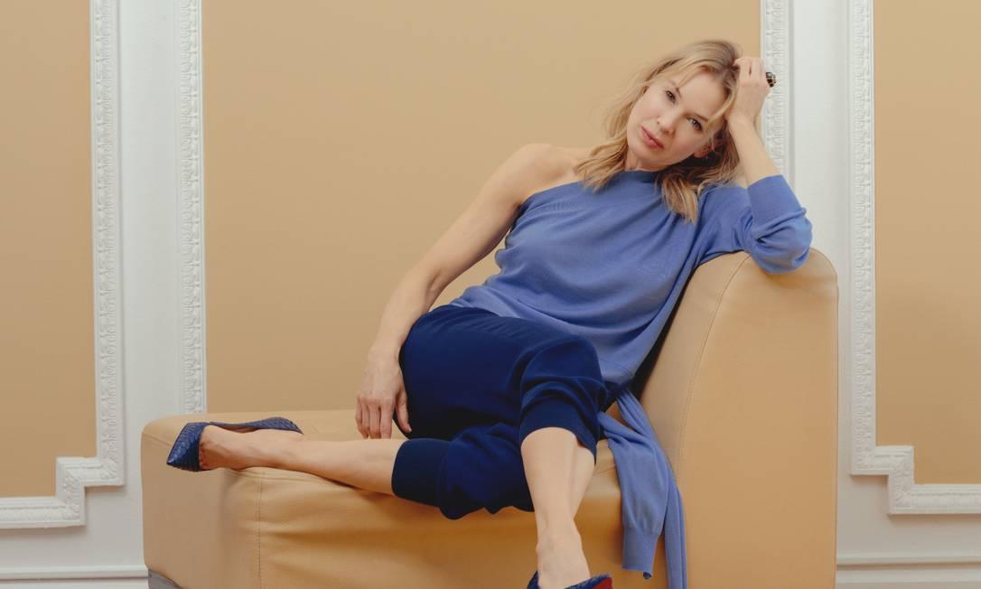 A atriz Renée Zellweger Foto: RYAN PFLUGER / NYT