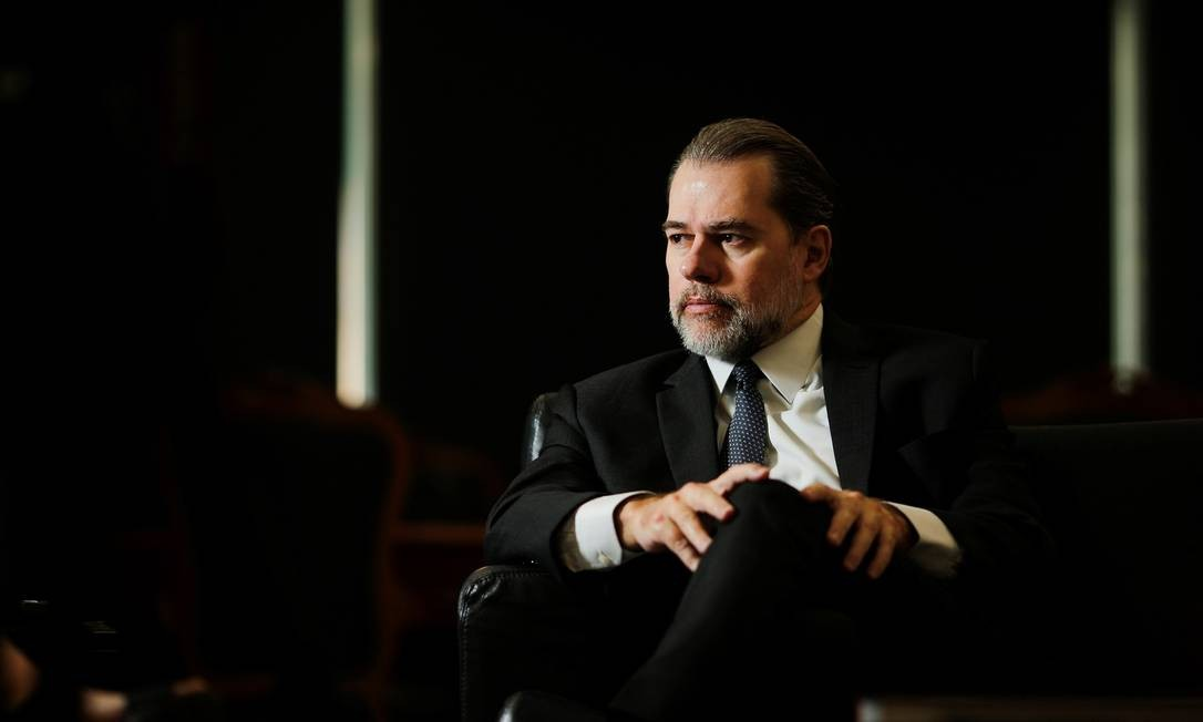 O presidente do STF, Dias Toffoli Foto: ADRIANO MACHADO / Reuters