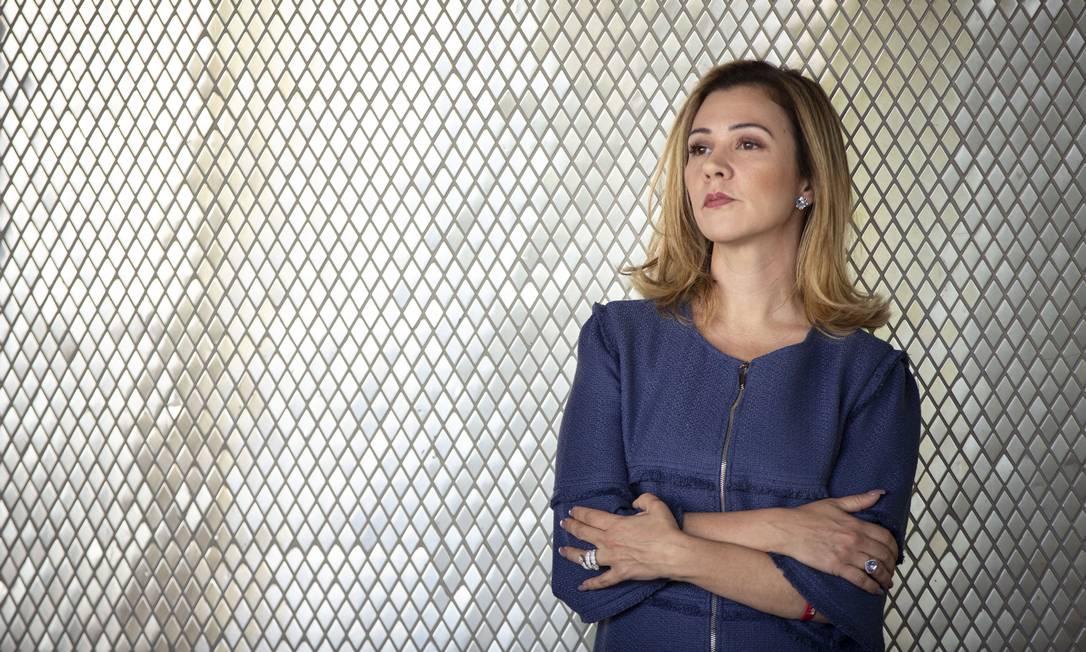 Advogada eleitoral do presidente Jair Bolsonaro, Karina Kufa14/10/2019 Foto: Daniel Marenco / Agência O Globo