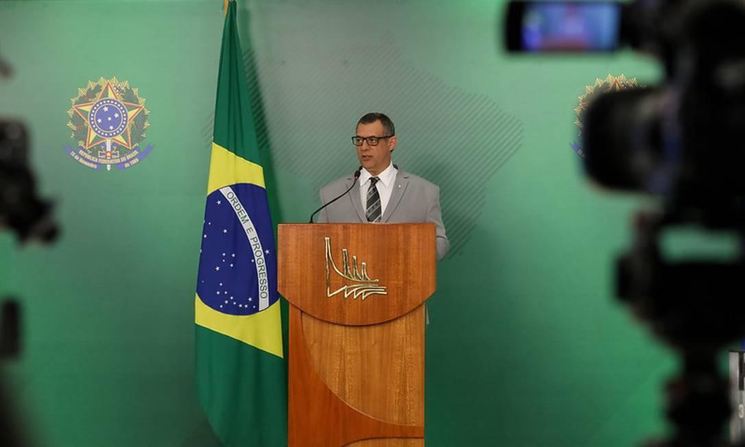 O porta-voz da Presidência da República, Otávio Rêgo Barros 14/10/2019 Foto: José Dias/Divulgação PR