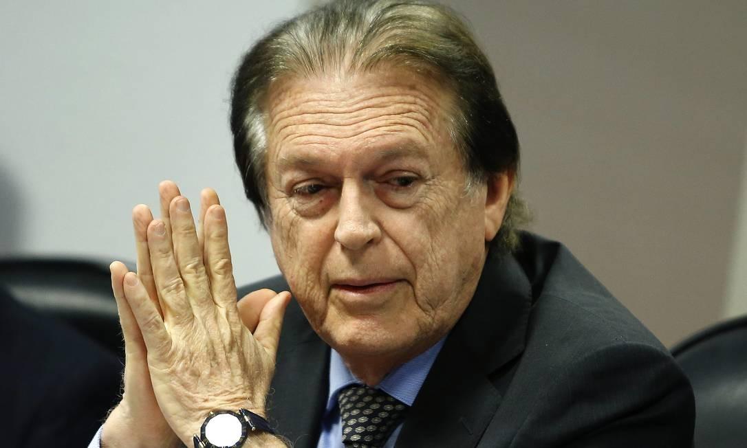 O presidente do PSL, Luciano Bivar 19/08/2019 Foto: Jorge William / Agência O Globo