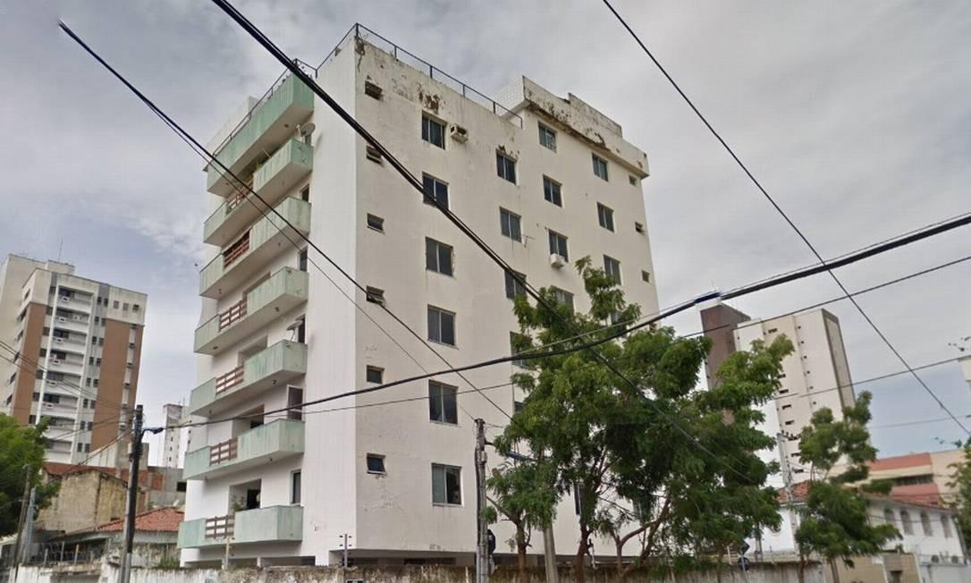 Prédio de sete andares desabou em Fortaleza (CE) Foto: Reprodução