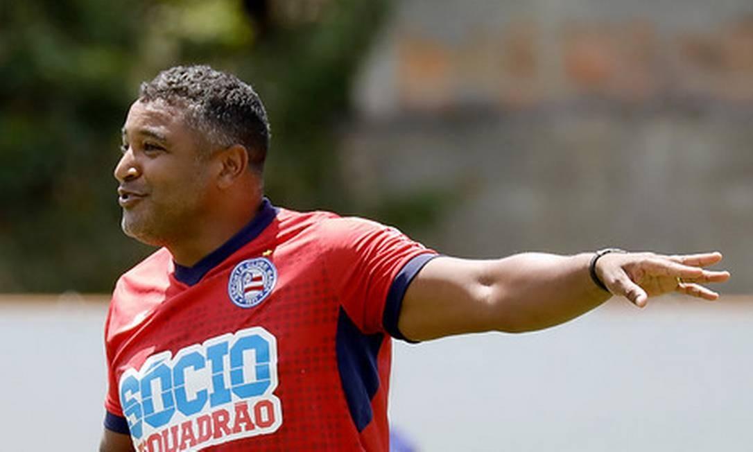 Roger Machado: técnico do Bahia vê futebol como ferramenta de transformação Foto: Felipe Oliveira / Divulgação Esporte Clube Bahia