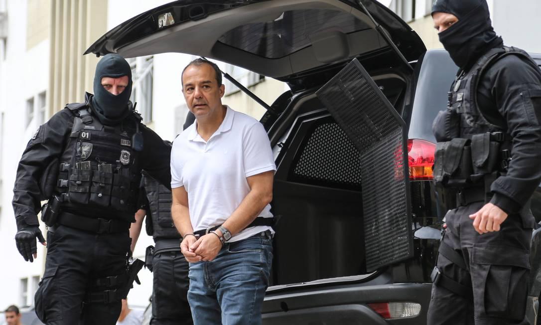 O ex-governador do Rio de Janeiro Sérgio Cabral foi condenado 12 vezes, com penas que somam 267 anos. Foto: Geraldo Bubniak / Agência O Globo
