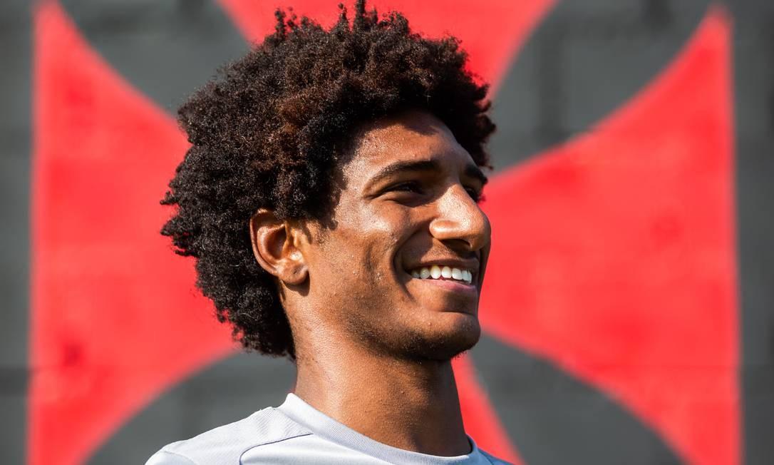 Talles Magno desfalcará o Vasco para jogar Mundial sub-17 Foto: Bruno Kaiuca