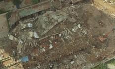 O Edifício Palace II desabou em 1998. Foto: Marcia Foletto / Agência O Globo