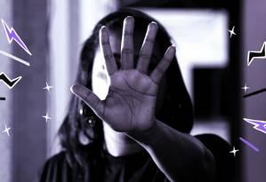 O projeto vetado pelo presidente Bolsonaro previa que hospitais notificassem as autoridades policiais, em até 24 horas, em caso de suspeita de violência doméstica Foto: Arte sobre foto de Fábio Rossi