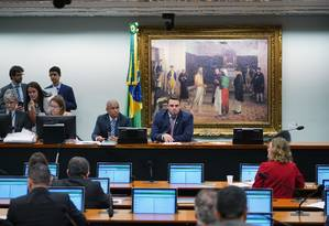 Reunião da Comissão de Constituição e Justiça (CCJ) da Câmara Foto: Pablo Valadares / Agência Câmara