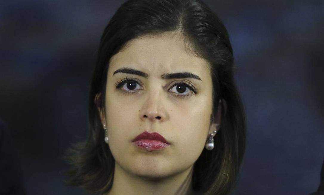 Tabata Amaral: deputada quer sair do PDT Foto: Agência Brasil