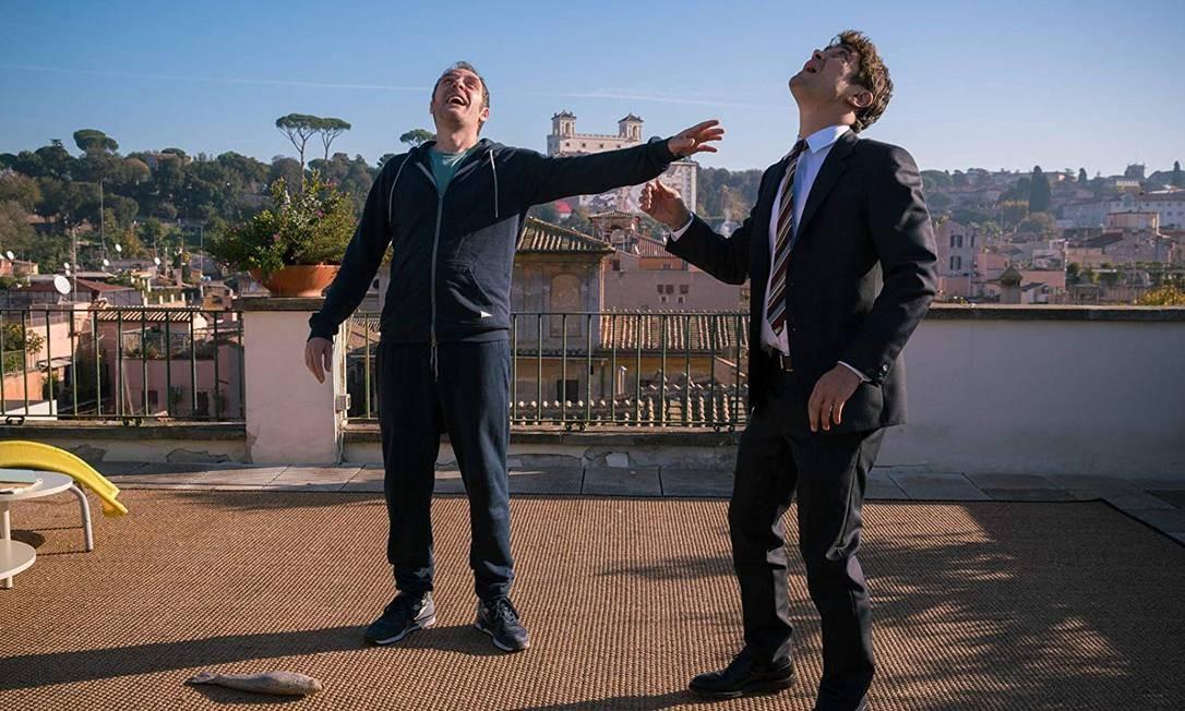 RS - Valério Mastandrea e Riccardo Scamarcio em cena do filme