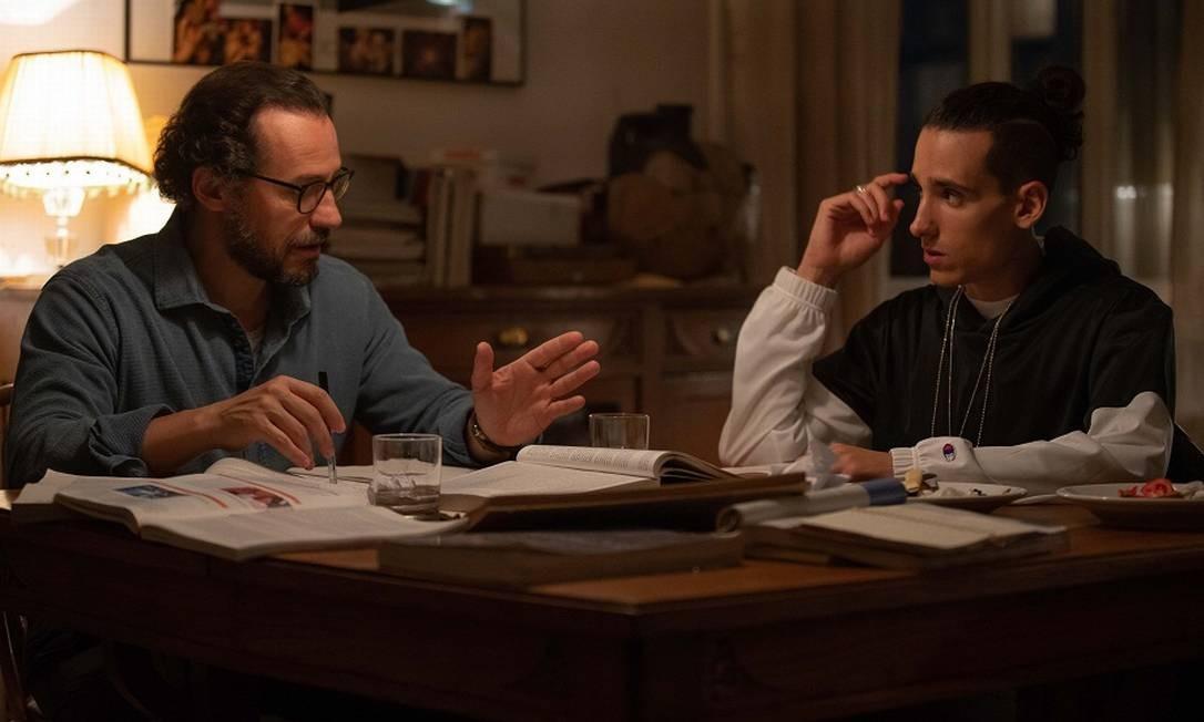RS - Stefano Accorsi e Andrea Carpenzano em cena do filme
