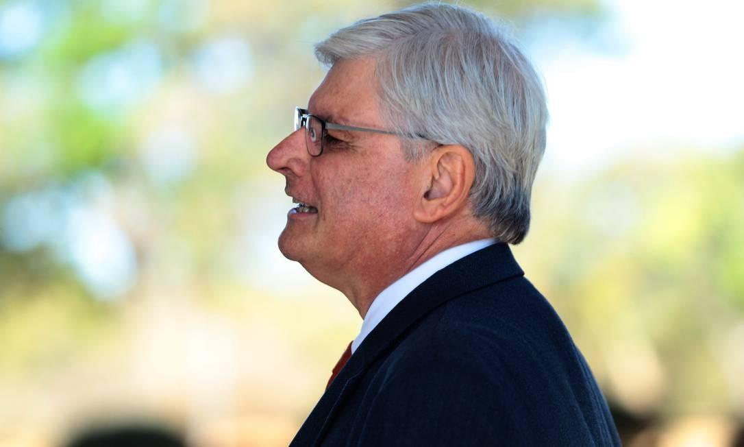 Rodrigo Janot quando era procurador-geral da República Foto: Jorge William / Agência O Globo