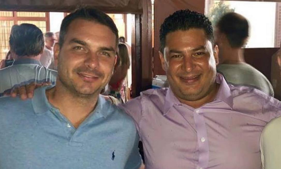 Alexandre Junqueira, ex-assessor do deputado estadual Gil Diniz, participou do réveillon com Bolsonaro e os filhos na Granja do Torto Foto: Reprodução