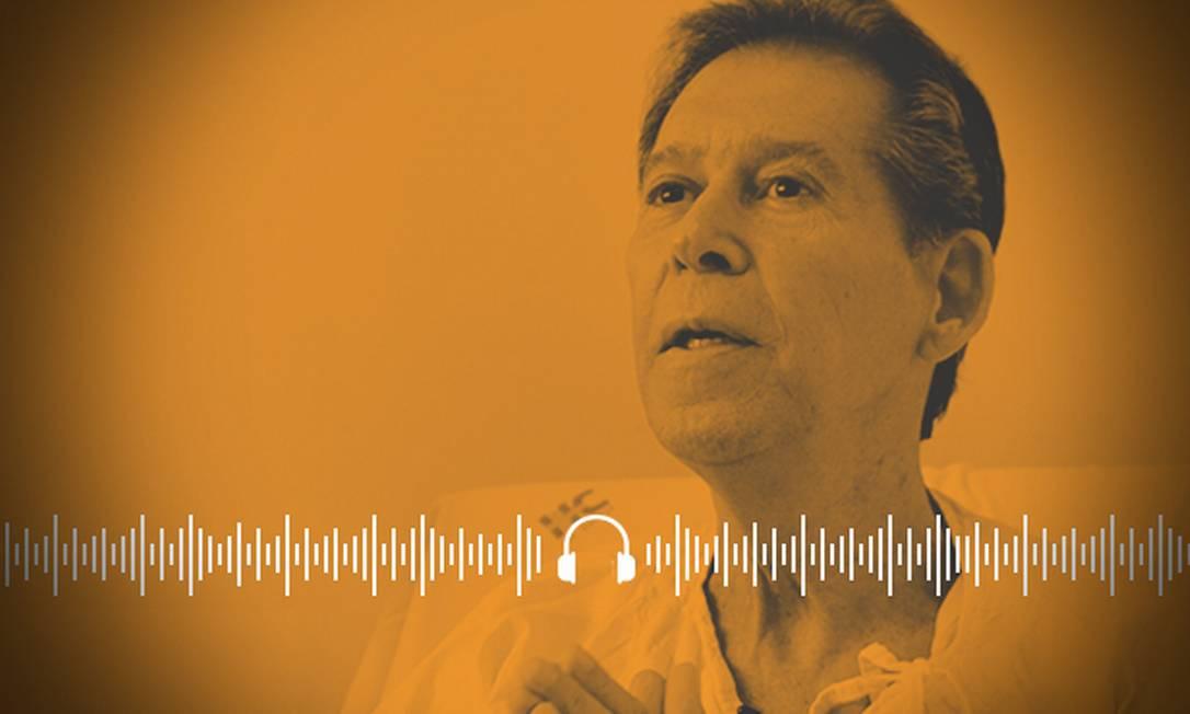 Vamberto era considerado paciente terminal e se recuperou após tratamento em São Paulo Foto: Arte