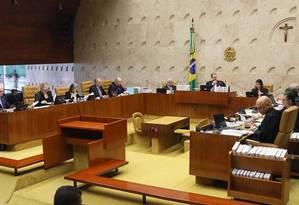 O plenário do Supremo Tribunal Federal (STF) Foto: Divulgação / 02-10-2019
