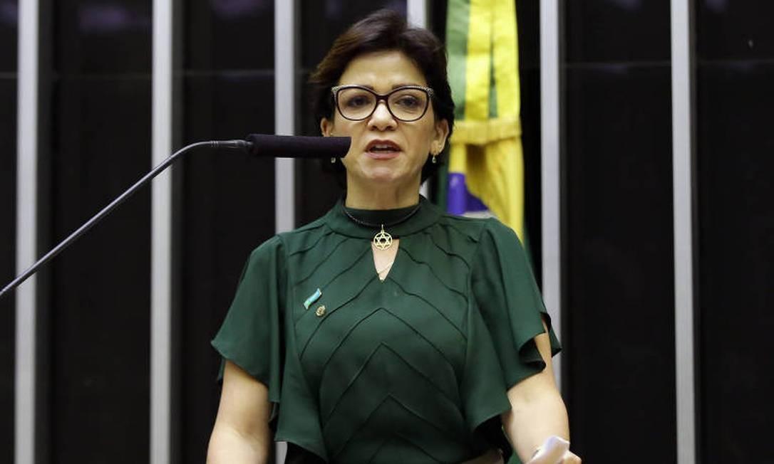 A deputada Alê Silva Foto: Najara Araújo / Infoglobo