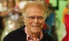 Mauricio Sherman em 2009, durante gravação do especial 10 anos do 'Zorra total' Foto: Gustavo Azeredo / Extra / Agência O Globo