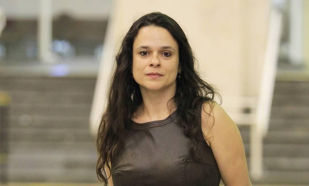 Janaina Paschoal, deputada estadual do PSL em SP, lamenta disputa interna na sigla Foto: Marcos Alves / Agência O Globo