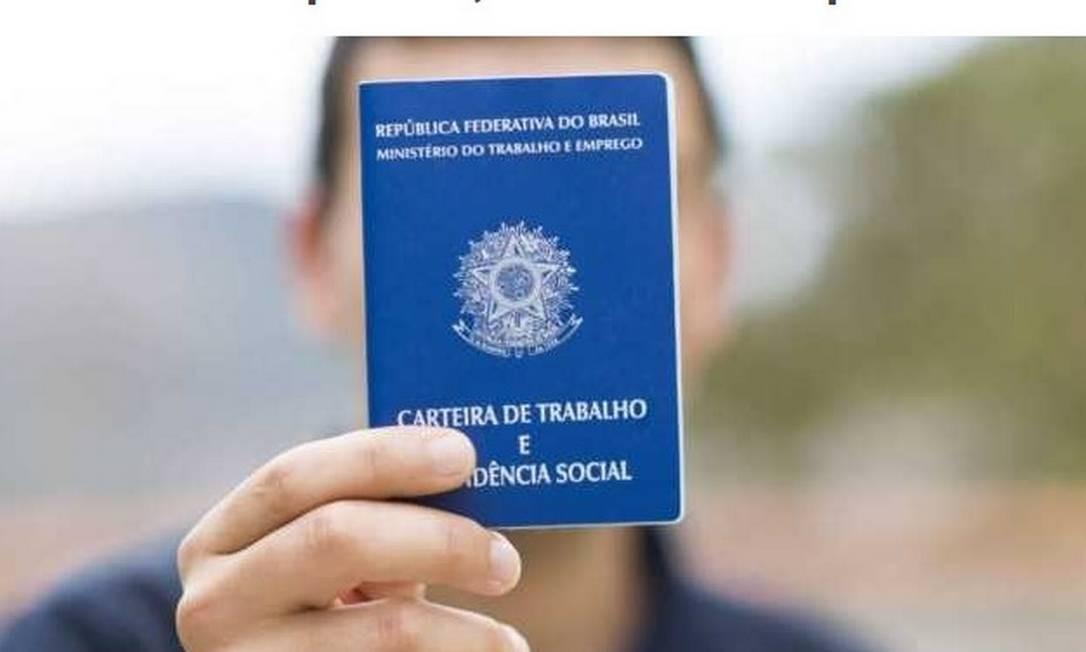 O trabalhador precisa ter a carteira de trabalho assinada em todos os regimes Foto: Arquivo