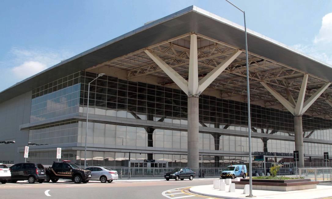 O terminal de cargas do aeroporto de Viracopos já foi alvo de quadrilha de assaltantes em 4 de março de 2018 - arquivo Foto: Denny Cesare / Agência O Globo