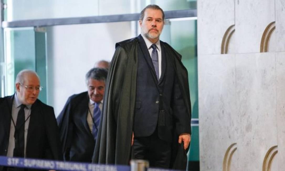 Julgamento pelo STF, presidido por Dias Toffoli, pode reverter decisão tomada pela corte em 2016 Foto: FELLIPE SAMPAIO / STF