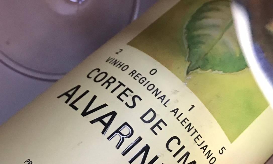 Cortes de Cima: o Alentejo na trajetória do alvarinho, uva maior dos vinhos verdes Foto: Pedro Mello e Souza