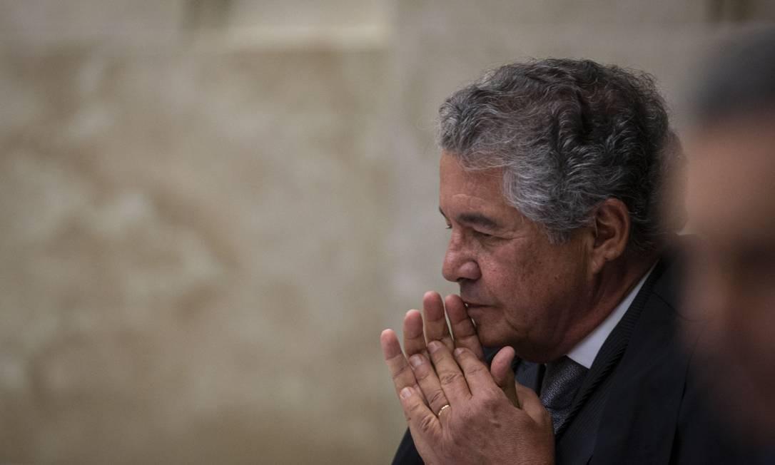 O ministro do Supremo Tribunal Federal (STF) Marco Aurelio de Mello 17/10/2019 Foto: Daniel Marenco / Agência O Globo