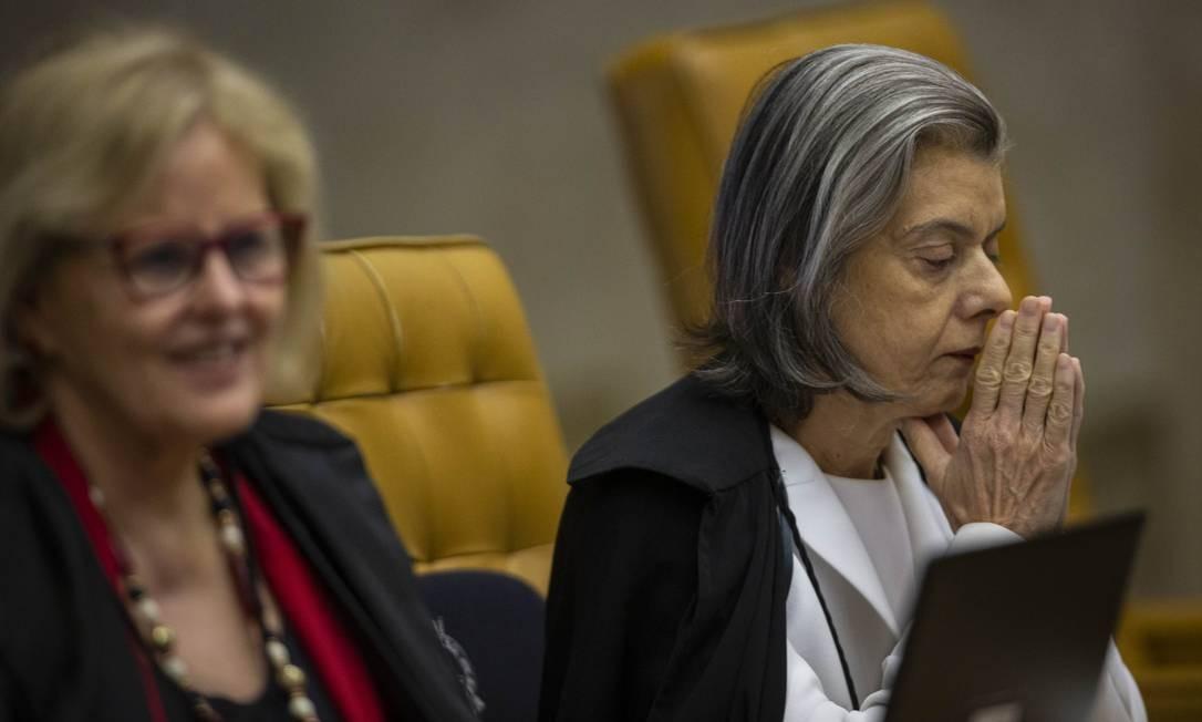 Cármen Lúcia convocou a audiência Foto: Daniel Marenco / Agência O Globo