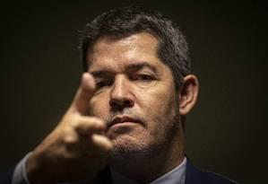 O deputado Delegado Waldir (PSL-GO) Foto: Daniel Marenco / Agência O Globo