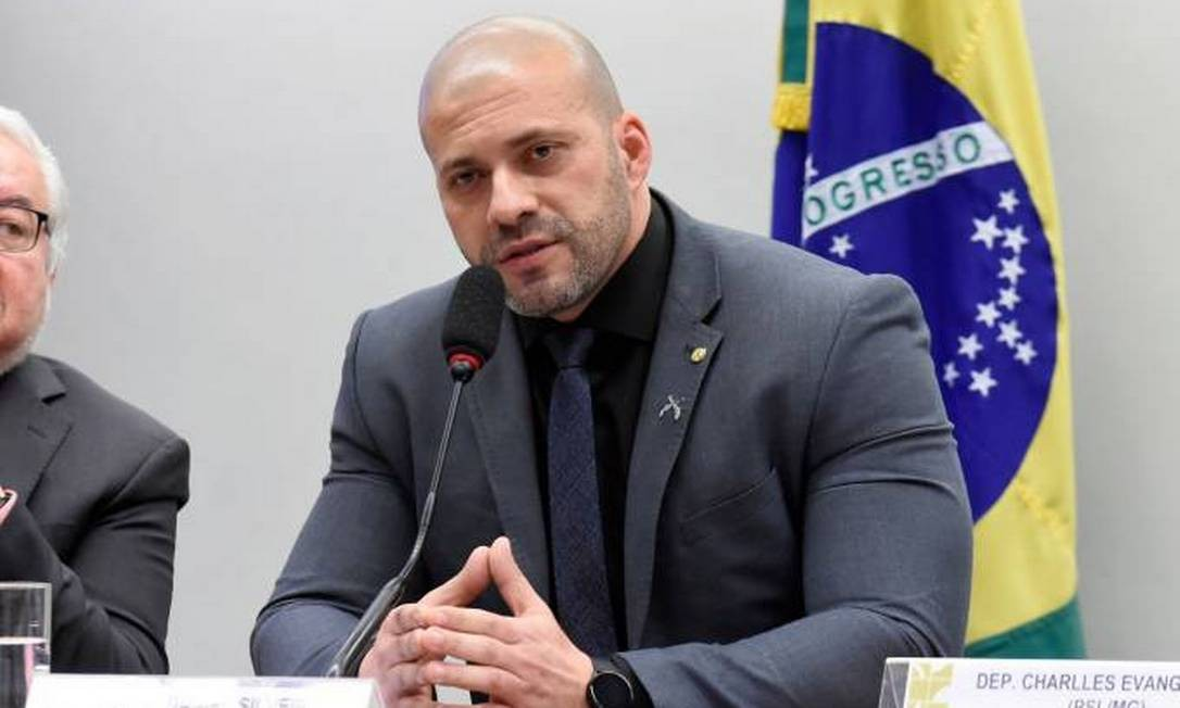 O deputado federal Daniel Silveira (PSL-RJ) Foto: Agência Câmara