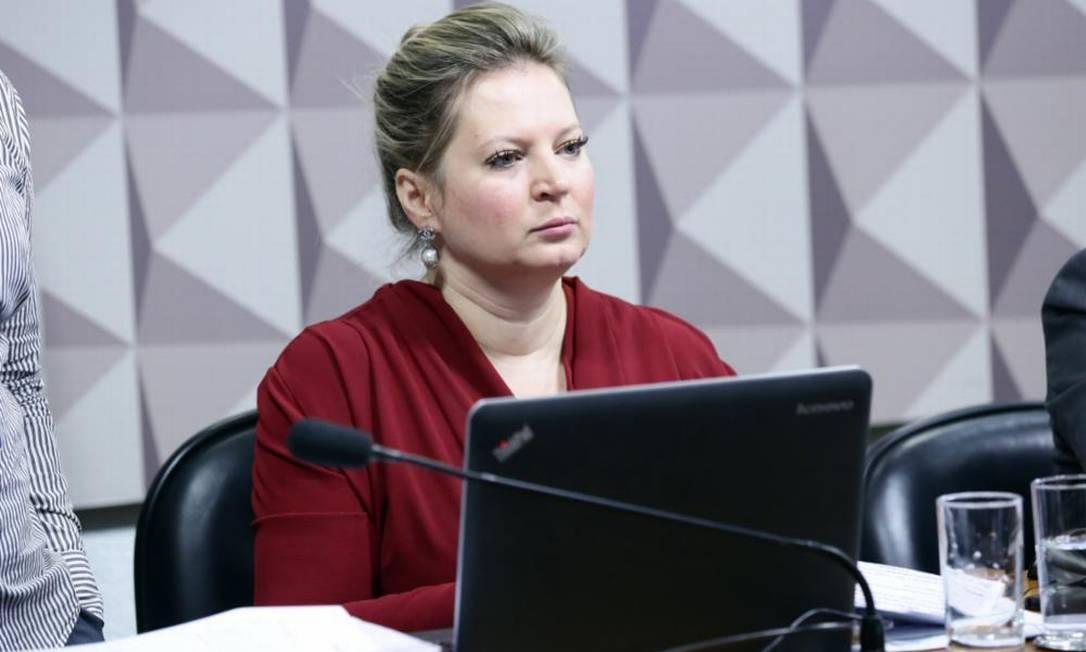 A deputada federal Joice Hasselmann (PSL/SP) Foto: Agência Câmara