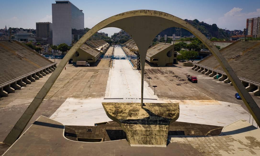 RI Rio de Janeiro (RJ) 17/10/2019 Alerj anuncia liberação de verbas para obras no Sambodromo Foto Pablo Jacob / Agência O Globo Foto: Agência O Globo