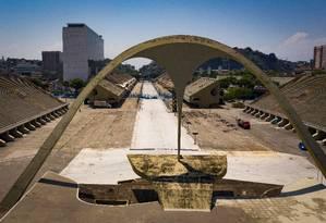 Witzel investirá R$ 8 milhões em reforma do Sambódromo, ainda sob gestão municipal Foto: Agência O Globo