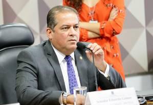 Novo líder do governo, senador Eduardo Gomes Foto: Agência Câmara