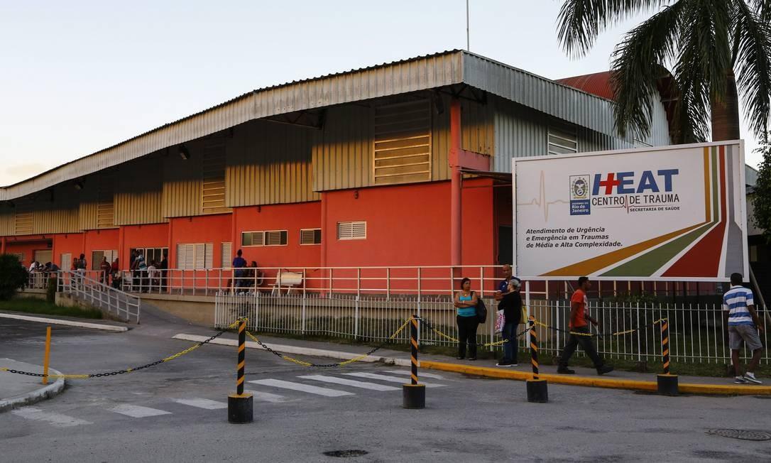 Vítima foi encaminhada para o Hospital estadual Alberto Torres Foto: Uanderson Fernandes / Agência O Globo - 29/08/2018