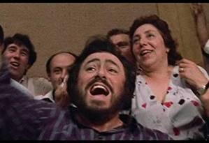 Filme 'Pavarotti', com a trajetória do tenor italiano Foto: Divulgação