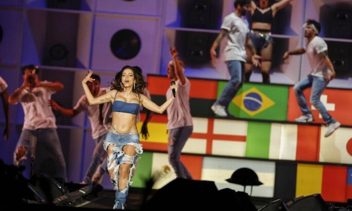 Show da cantora Anitta no Palco Mundo do Rock in Rio de 2019 Foto: Gabriel Monteiro / Agência O Globo