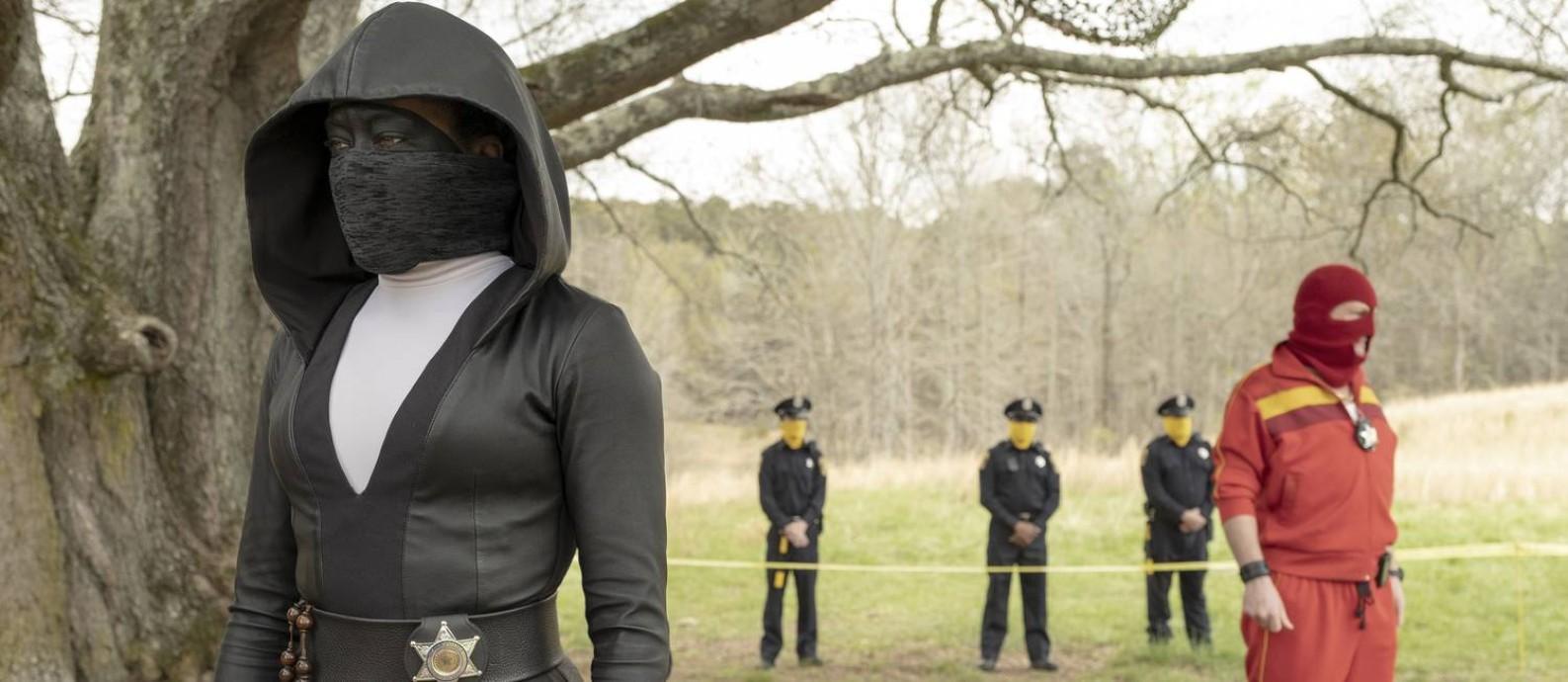 Cena da série 'Watchmen', da HBO Foto: Divulgação