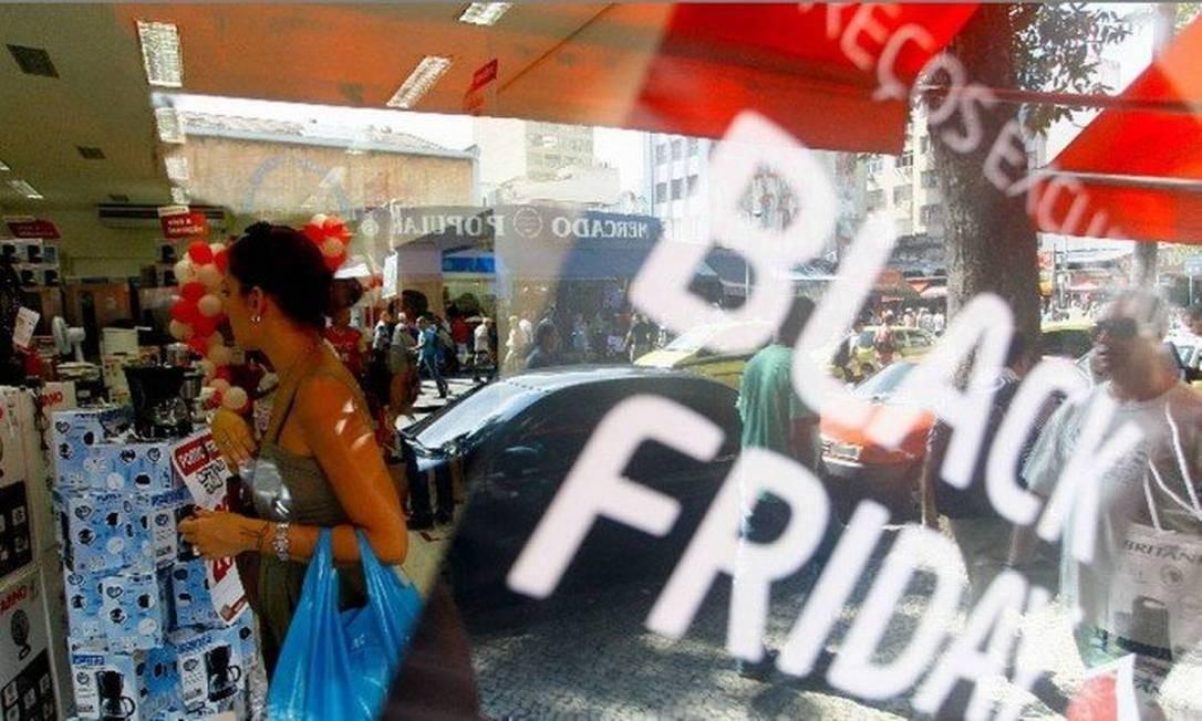 Shopping na sexta-feira / Black Friday